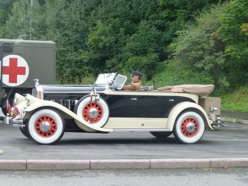 1930 PIERCE ARROW 4 SETER TOURING