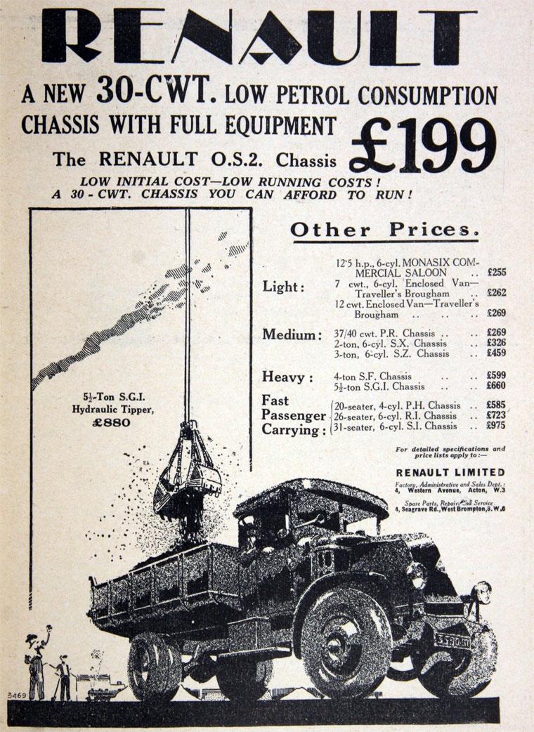 1930 Renault