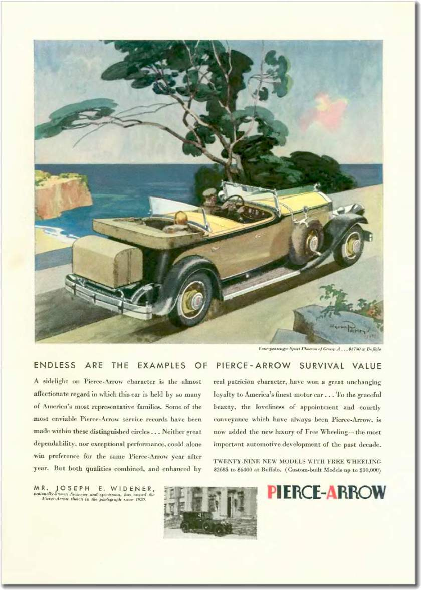 1931 Pierce-Arrow, Apr 04, 1931
