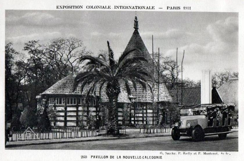 1931 Renault bus Exposition Coloniale Paris 1931, Nouvelle Calédonie