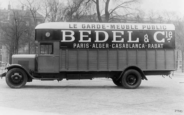 1932 Camion Renault de type UDD 25 cv