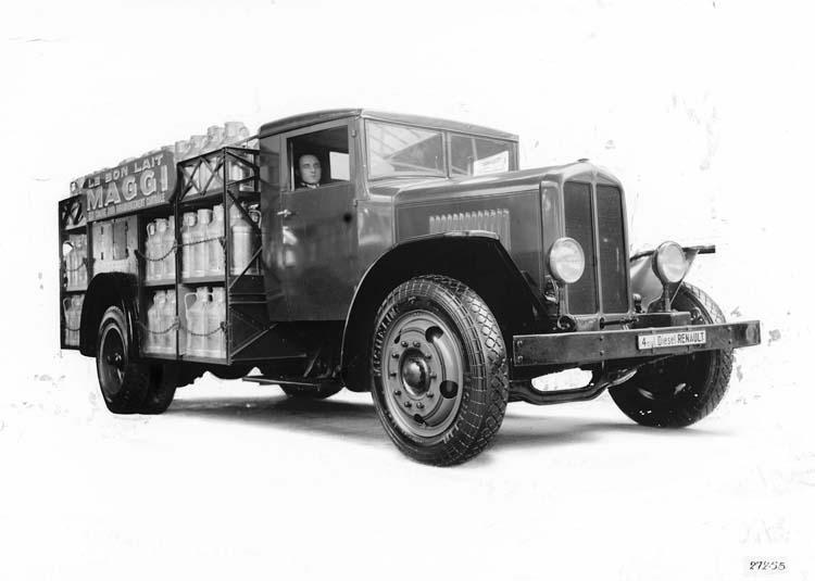 1932 Camion Renault laitier type TI 25 cv 6.5 tonnes