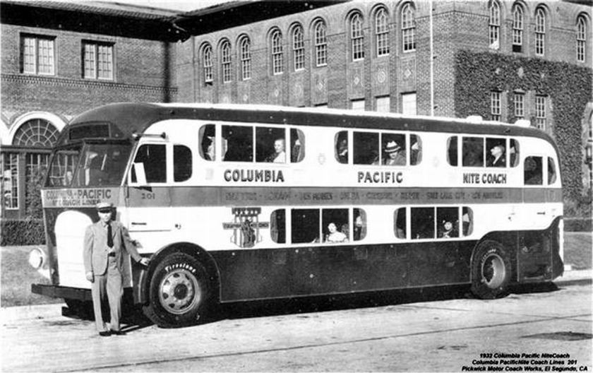 1932 Pickwick Motor Coach Columbia Pacific-201 Nite Coach