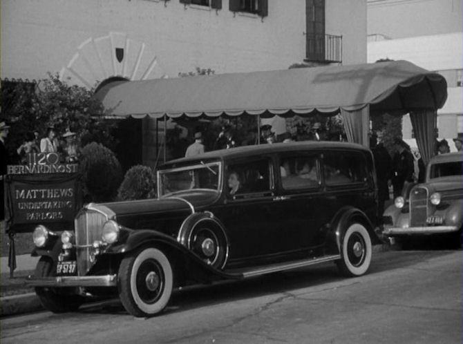 1932 Pierce-Arrow Model 54 Funeral Coach Superior 'Pierce-Superior'