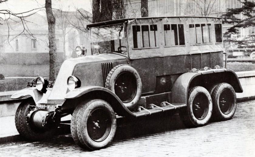 1932 Renault 01 1000 Sahara