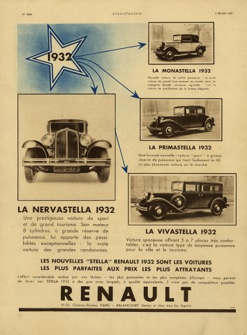 1932 renault a