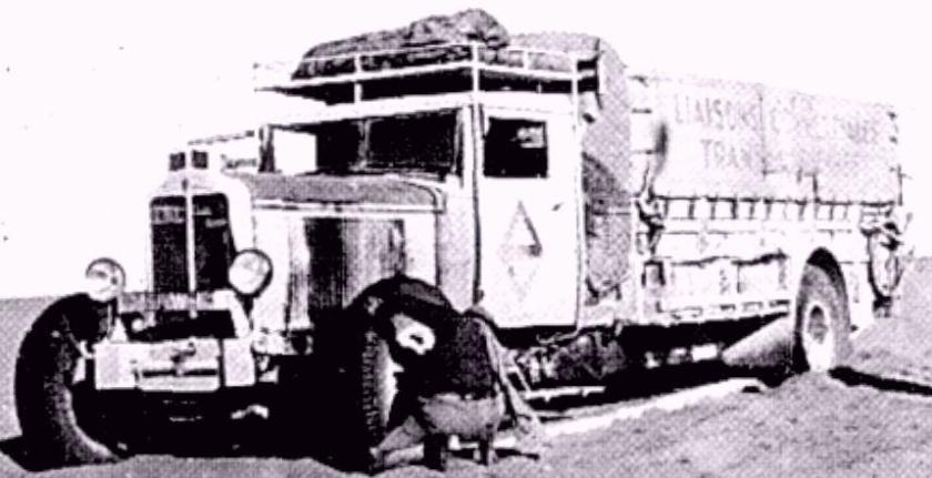 1932 Renault Mission Transsaharienne