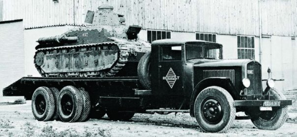 1932 Renault VT6, 6x6