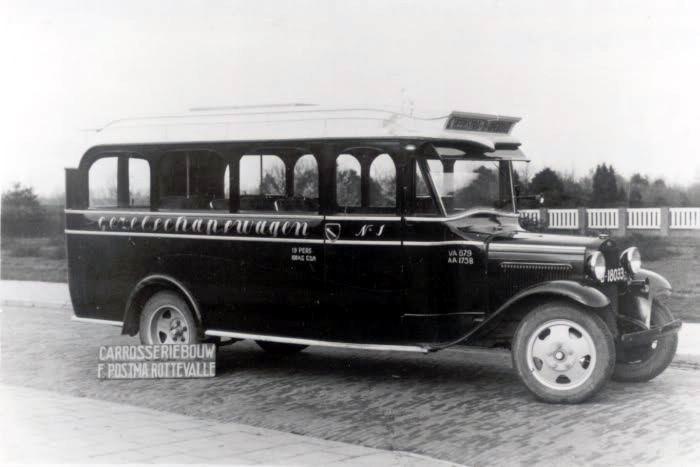 1933 Ford Postma Rottevalle  B-18033.