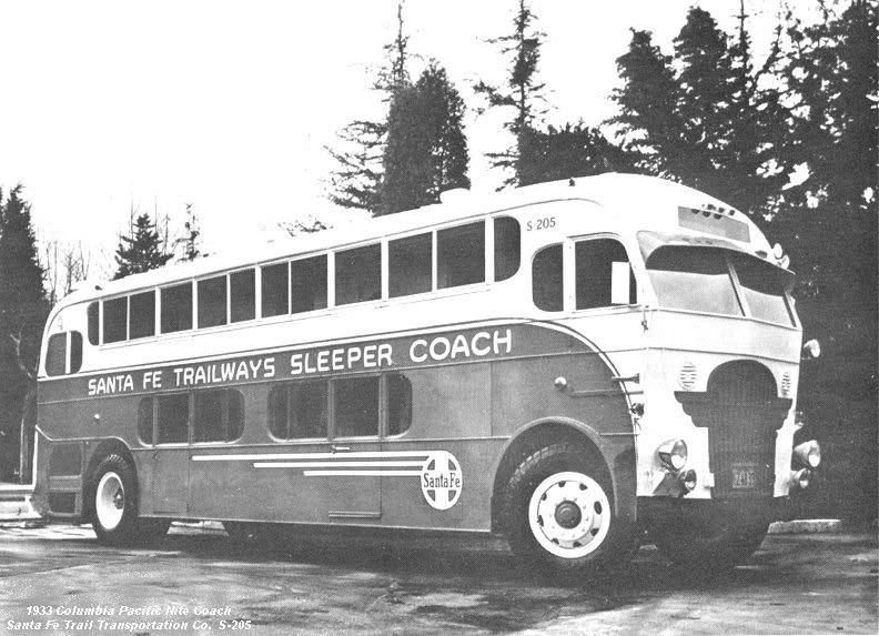 1933 Pickwick 'Nite Coach' GAL 7PH 131 NITECOACH