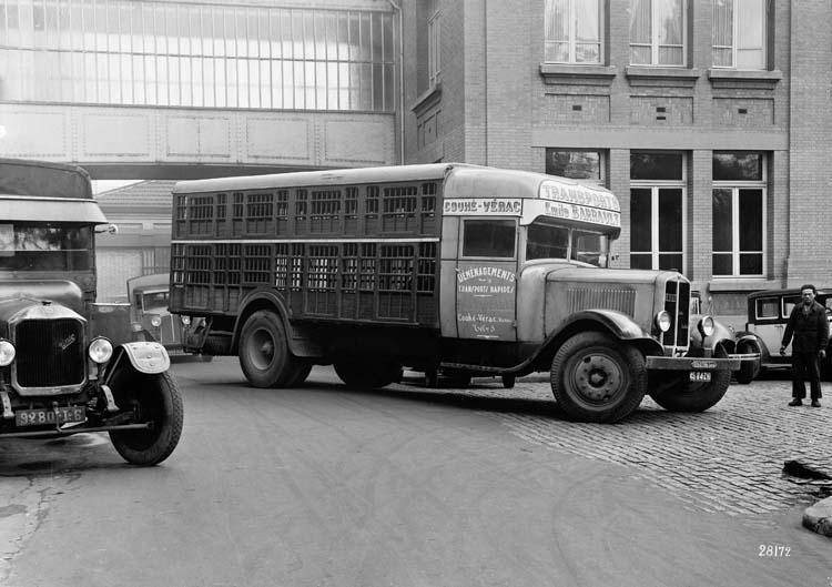 1933 Renault type UDD 25 cv 7.5 tonnes a