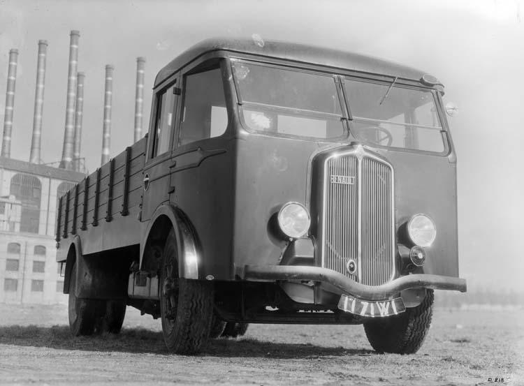 1934 Camion Renault de type ABF 85 cv 5.5 tonnes