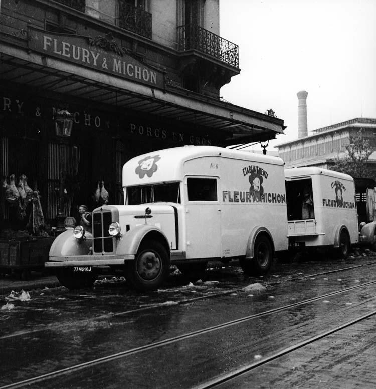 1934 Fourgon Renault type YFC 70 cv 3.5 tonnes Fleury Michon
