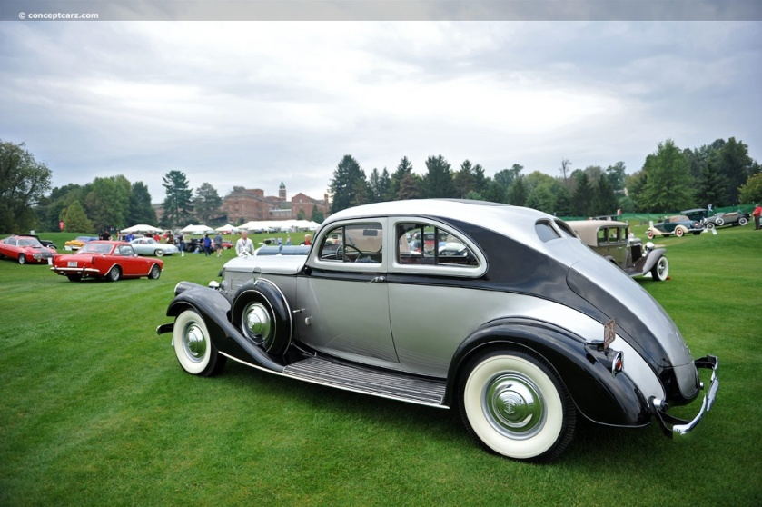 1934 Pierce-Arrow Model 1250A (Silver Arrow)
