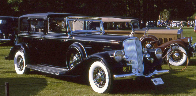 1934 Pierce-Arrow V-12 Brunn Town Car