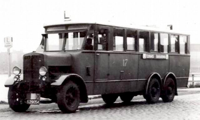 1934 Postma Rottevalle B-17573 Citroën Lijn L Bus 17 Buisloterweg A'dam NL