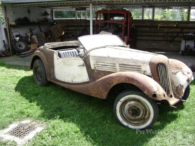 1934 Praga Baby roadster