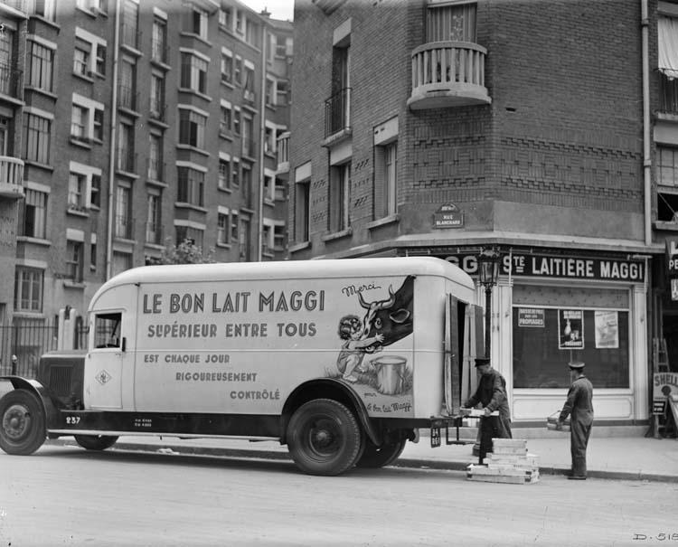 1934 Renault laitier type TI 85 cv 6.5 tonnes
