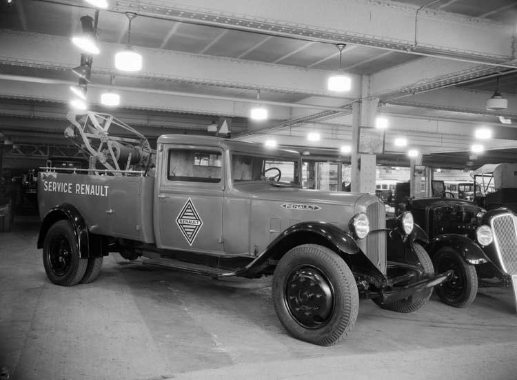 1934 Renault type ZY 2.5 tonnes - service dépannage réseau