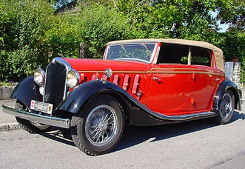 1934 Worblaufen Alfa Romeo 6C 2300 Cabriolet b