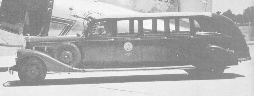 1935 pierce arrow 15pass site seeing bus