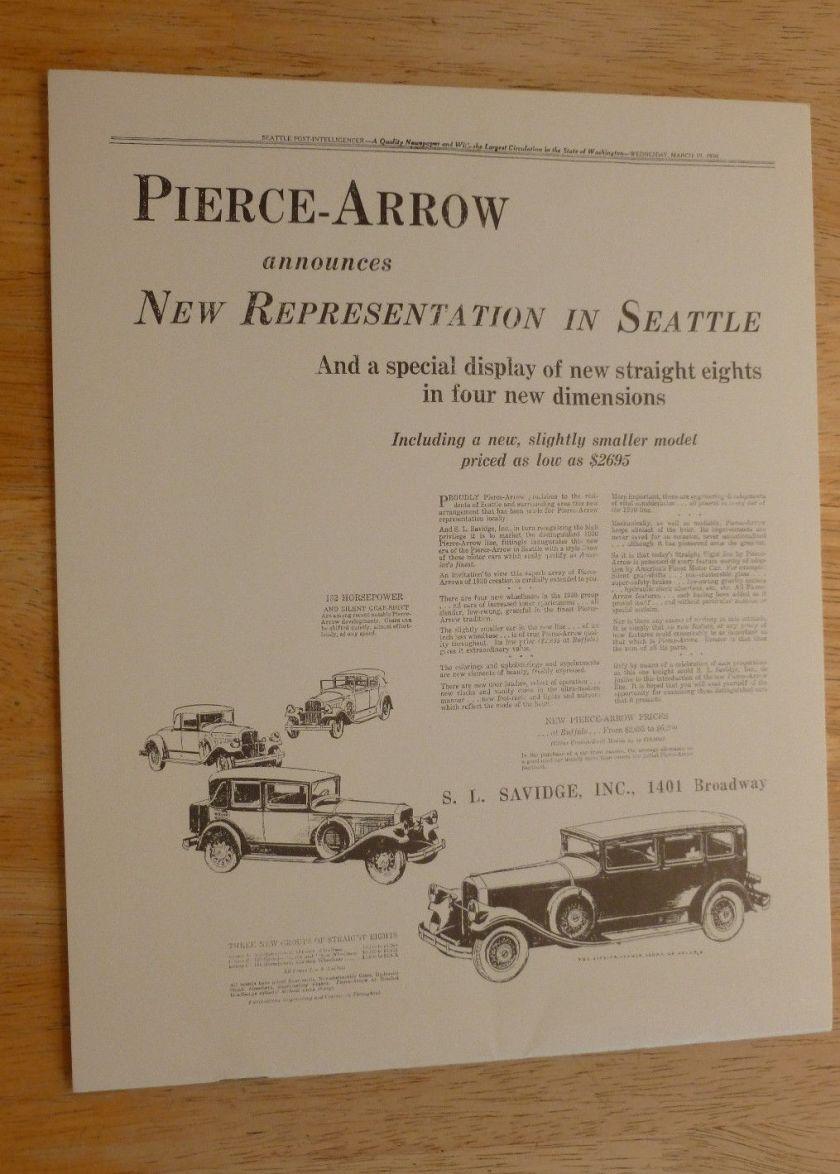 Peugeot 360 176 view rcz gt line rhd -  1935 Pierce Arrow B