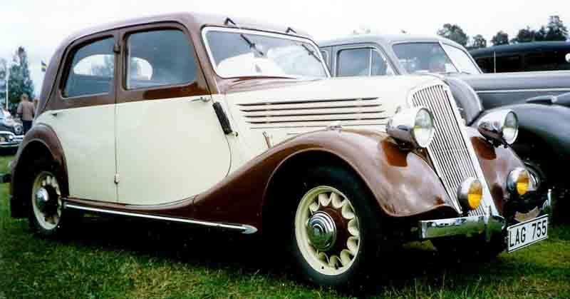 1935 Renault Celtaquate Berline