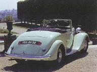 1935 Renault Vivasport ACM1 Décapotable
