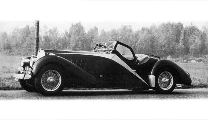 1935 Worblaufen Bugatti T57 Grand Raid Roadster #57246 a