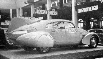 1936 Peugeot 402 N4X na Salonie Parys