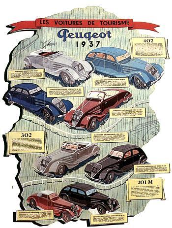 1937 peugeot  gama