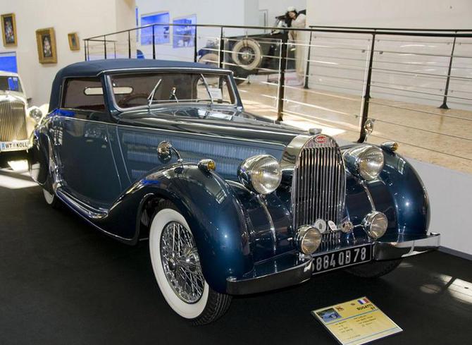 1937 Worblaufen Bugatti T57 Convertible #57629 a