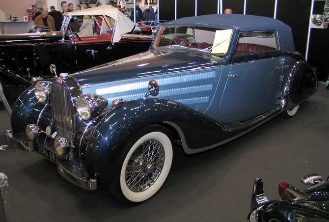 1937 Worblaufen Bugatti T57 Convertible #57629 b