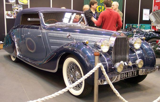 1937 Worblaufen Bugatti T57 Convertible #57629 d