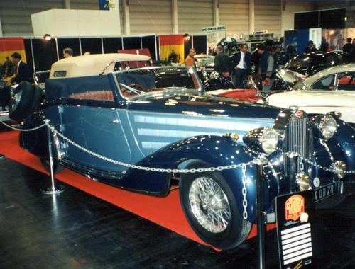1937 Worblaufen Bugatti T57 Convertible #57629 e