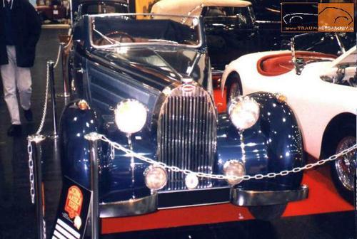1937 Worblaufen Bugatti T57 Convertible #57629 f