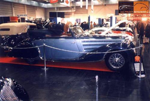 1937 Worblaufen Bugatti T57 Convertible #57629 g