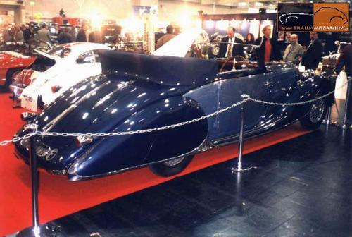1937 Worblaufen Bugatti T57 Convertible #57629 h