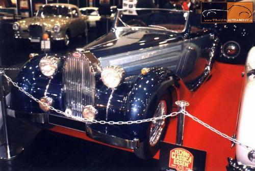 1937 Worblaufen Bugatti T57 Convertible #57629 i