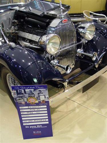 1937 Worblaufen Bugatti T57 Convertible #57629 l