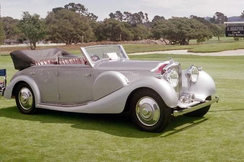 1938 a Worblaufen Bentley 4 1-4 ltr Allweather Cabriolet