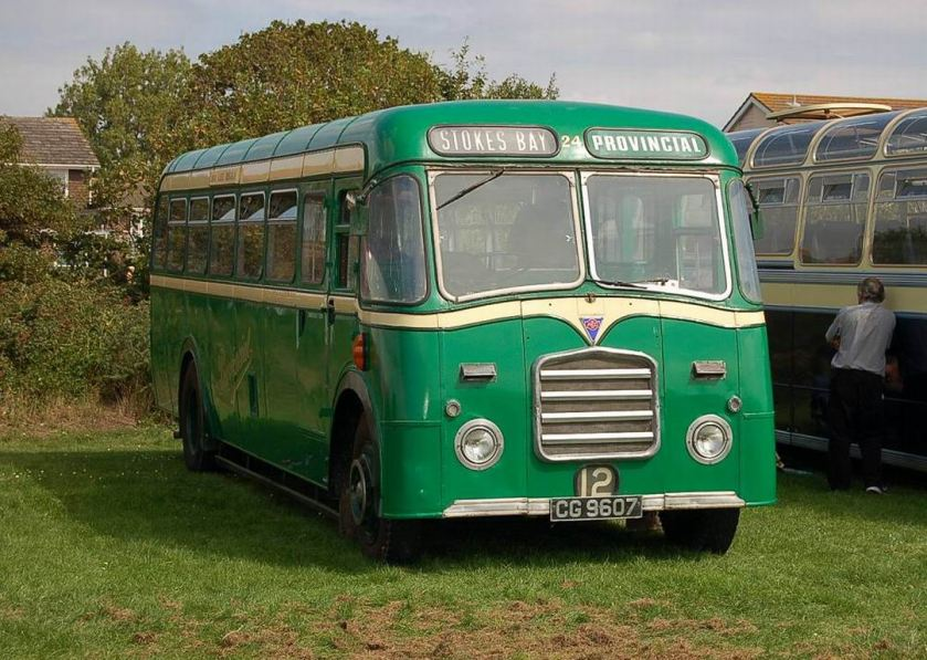 1938 AEC Regal 4 with Reading B35F Bodywork