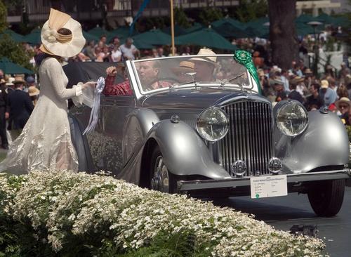 1938 b Worblaufen Bentley 4 1-4 ltr Allweather Cabriolet