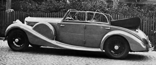 1938 c Worblaufen Bentley 4 1-4 ltr Allweather Cabriolet