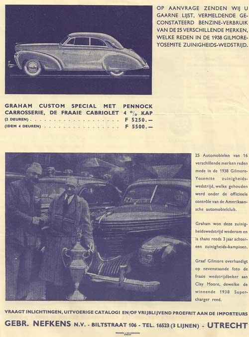 1938 Pennock-Graham-1938-nefkens