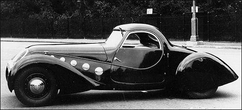 1938 Peugeot 402 Darl'Mat Special Sport