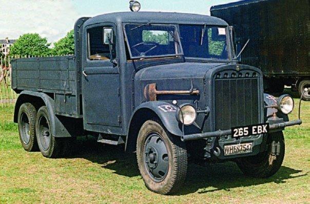 1938 Praga RV, 6x6