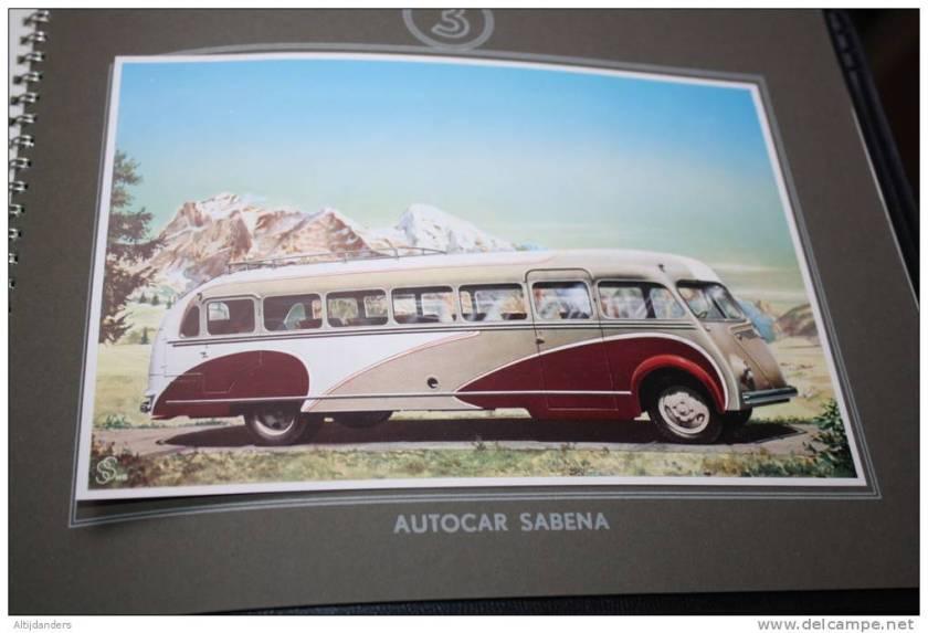 1938 RAGHENO Autocar SABENA Bel