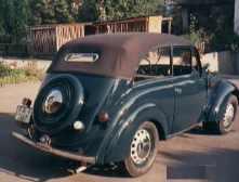 1938 Renault Juvaquatre Décapotable
