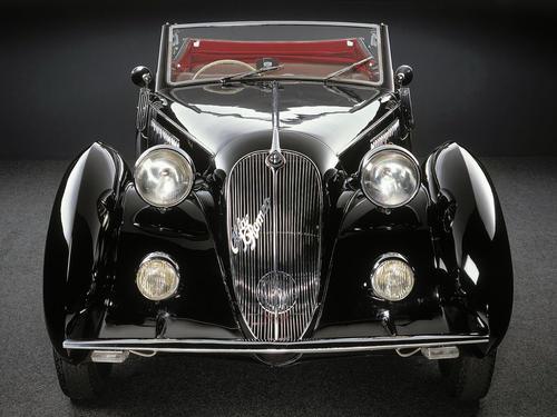 1938 Worblaufen Alfa Romeo 6C 2300 B Cabriolet a